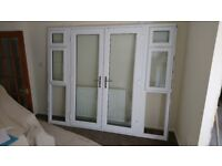As new French Doors 18 months old