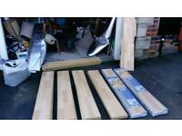 Laminate flooring and Underlay available 4th june onward price ono