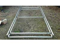 Stainless steel Merc sprinter or vw lt swb low roof roof rack system