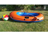 Large dingy with oars - £45 open to sensible offer