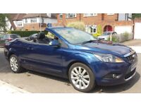 Ford Focus 2.0 CC3 59000 miles Convertible Hard Top 2008 New Shape Long MOT 1 Former Owner