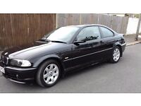 BMW 318CI COUPE 03 PLATE 2DOOR BLACK 1 YRS MOT1 P OWNER IMMACULATE