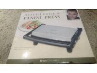 Gino D'acampo health grill and panini press
