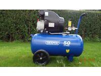 Air compressor DRAPER 50ltr