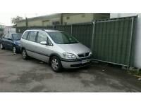 Vauxhall Zafira 2.0, Manual, 2003, Very good condition
