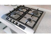 Siemens 4 ring stainless steel gas hob unit