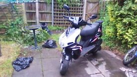 This bike has a really good engine.and only 3500 mile on cock.call me or email.Thanks