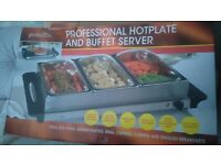 Prolectrix hotplate buffet server
