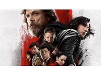Star Wars The Last Jedi Tickets - Tomorrow Night Premier! BFI 3D IMAX London Waterloo
