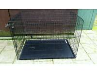 Four Paws Deluxe Double-Door Dog Crate With Divider Panel, Xx-Large