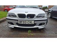 2003 BMW 330D M SPORT price drop