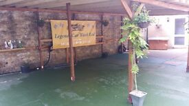 Fully equipped Car Wash forecourt to rent