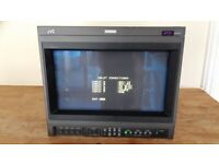 JVC DT-V1710CG 17 inch 16x9 HD Colour CRT Monitor with 3 Card Slots