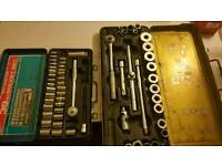 BARGAIN 2 SPANNERS SET MADE IN JAPAN SET AND MORE
