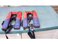 2 x Seago children's life jackets