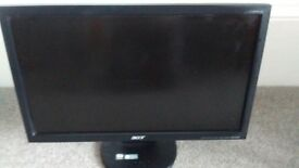 Acer 17 inch monitors (2)