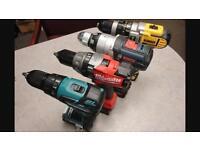Wanted dewalt festool Bosch makita tools for spares repairs