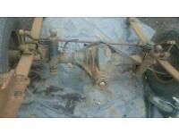 Twin wheel axel removed from lwb ldv may fit fords
