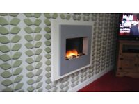Wall mounted electric fire excellent condition
