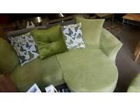 Beautiful DFS corner sofa non sale RRP £900