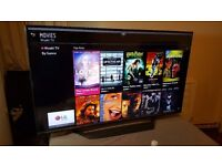 """LG 55"""" Smart ULTRA HD 4K TV-55UF770V with built in Wifi,Freeview HD, Netflix,Excellent condition"""
