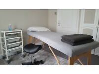 A beautiful treatment/therapy room to rent per hour