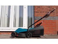 Bosch Rotak 320ER corded lawn mower in great condition