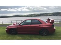 Subaru Impreza WRX - stage 1 - private plate - clean example - swap for BMW X5 3.0D