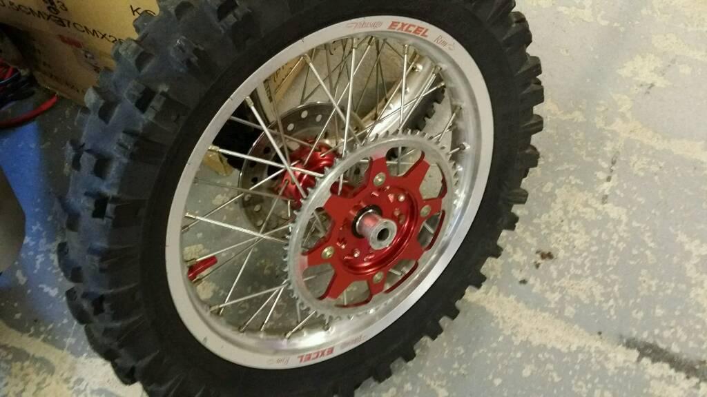 Talon takasago big wheels crf150 crf150r
