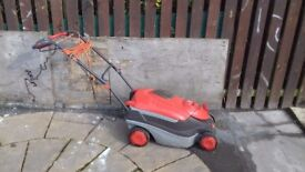 Flymo roller compact 3400 for sale big compartment for grass to collect