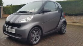 Top of the range 2010 Limited EDITION URBAN STYLE Smart Fortwo MHD COUPE, Auto/Semi-Auto Modes