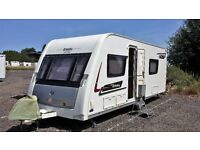 Elddis Affinity 540, 50th Anniversity, 4 berth touring caravan