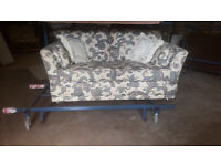 Lovely 2 seater Seater Sofa bed by Reids really comfie - Can Deliver locally