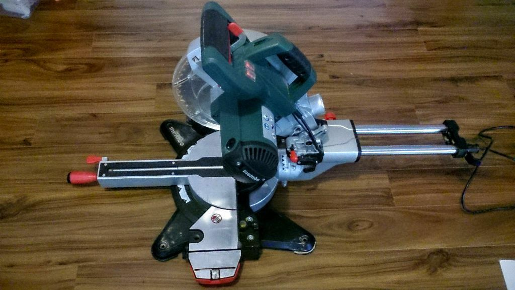 Metabo kgs 254 m sliding mitre saw in sydenham belfast gumtree - Kgs 254 m ...