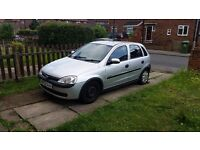 Cheap first car or work car 2003 Corsa c 1.0 design