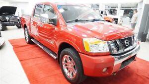 2011 Nissan Titan SL Crew Cab+Cuir+Marchepieds+Remorquage+GPS
