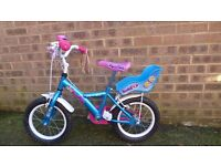 Apollo girls bike - 12'' in very good condition