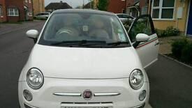Fiat 500 automatic car 2010 dec reg, 2 doors, 36500 mileage, full service history