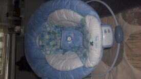 Bright start baby bouncer chair by comfort and Harmony.
