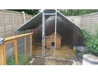 3x2 Metre Chicken Run Cage