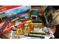 Huge lot of Vintage Tri- Ang Hornby Railway. Inc lots of Extras