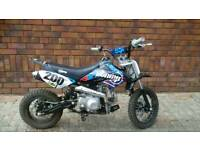 Stomp Juicebox Pitbike and clothing