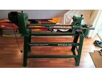 Coronet Woodworking Lathe with Record Stand