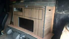 Vw t5 t4 vivaro vito camper kitchen pod