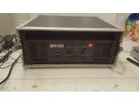 "JBL MPX1200 19"" Power Amp - 800w RMS x2"