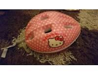 Hello kitty bike helmet £3