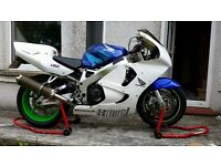 HONDA CBR900 FIREBLADE TRACK BIKE WITH DAY TIME MOT ONLY 21K MILES RIDES V WELL