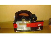 Scott ski racing goggles, never been used