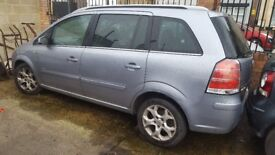 Vauxhall Zafira - Good runner but no 3rd gear