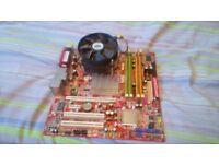 Complete Motherboard, CPU & Memory Bundle